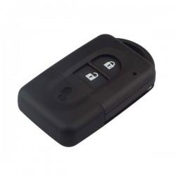 Carcasa para mando inteligente de 2 botones plegables Nissan.